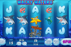 wacky waters playtech slot machine