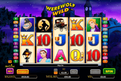 werewolf wild aristocrat slot machine
