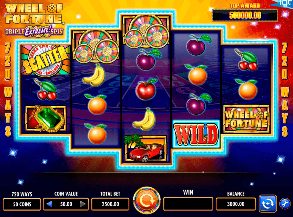 Igt Wheel Of Fortune Slot Machine