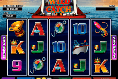 wild catch microgaming slot machine