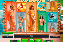 wild water netent slot machine