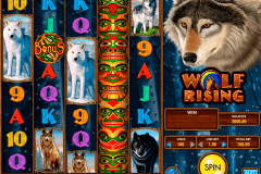 wolf rising igt slot machine
