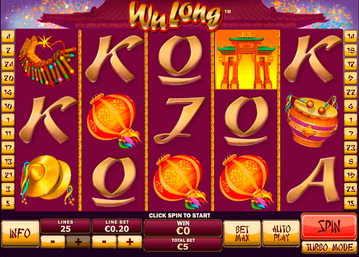 Play Wu Long online slots at Casino.com
